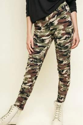 Umgee USA Camo Print Pants