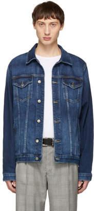 Frame Blue Denim LHomme Jacket