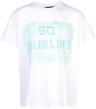 d35b9294 Lost Daze so sublime print T-shirt