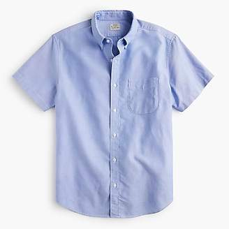 J.Crew Stretch short-sleeve American Pima cotton oxford shirt