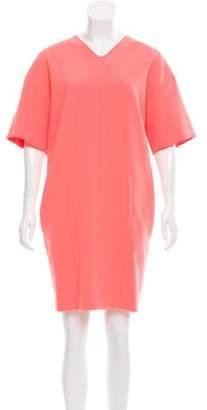 Cédric Charlier Neon Mini Dress