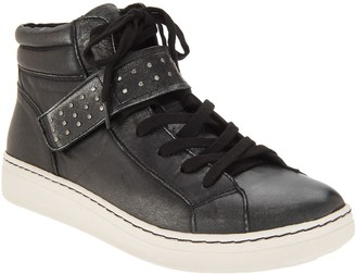 Earth Lace-up Sneakers with Studded Strap - Zeal