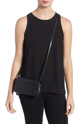 Rag & Bone Studded Leather Crossbody Wallet