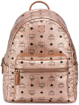 MCM metallic studded backpack