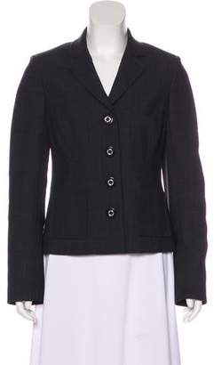 Tory Burch Notched-Lapel Structured Blazer