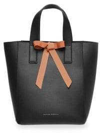 Loeffler Randall Pebble Leather Ribbon Shopper Bag