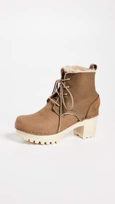No.6 Lander Lace Up Shearling Boots
