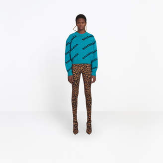 Balenciaga Oversize logo sweater