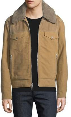 Rag & Bone Men's Matthew Jacket with Removable Shearling Trim