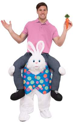 Forum Men's Hop on Top Ride-on Easter Bunny Costume