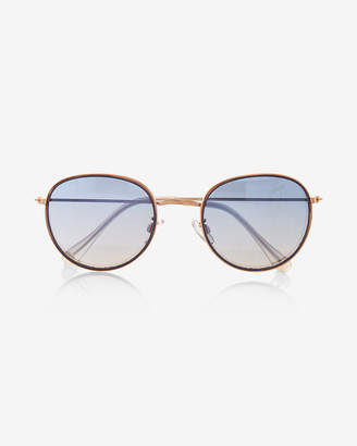 Express Small Round Sunglasses