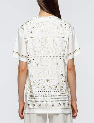 Opening Ceremony Studded Logo S/S T-shirt