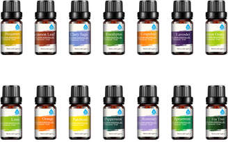 Pursonic Pack Of 14 Pure Essential Aroma Oils