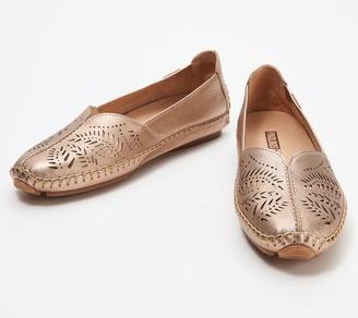 PIKOLINOS Lazer Perforated Leather Slip-On Shoes - Jerez