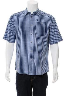 G Star Woven Button-Up Shirt