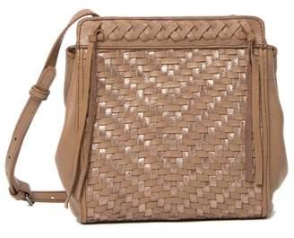 Kooba Aisha Woven Leather Crossbody Bag