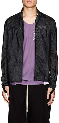 Satisfy Men's Leopard-Print Tech-Ripstop Windbreaker