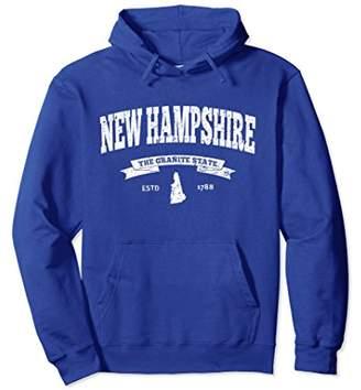 New Hampshire Hoodie. Vintage New Hampshire Sweatshirt Retro