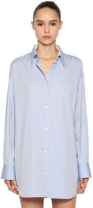 Calvin Klein Oversized Cotton Oxford Shirt