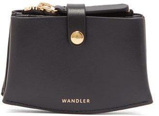 Wandler Leather Card Holder - Womens - Black