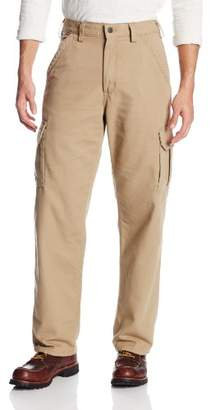 Carhartt Men's Big & Tall Flame Resistant Canvas Cargo Pant,52 x 32