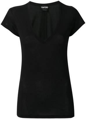 Tom Ford (トム フォード) - Tom Ford Vネック Tシャツ