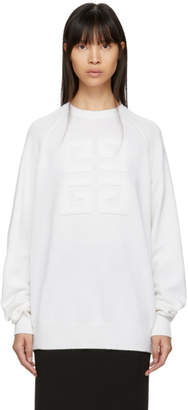 Givenchy Off-White Cashmere 4G Sweater