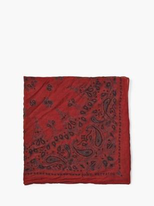 Crinkled Paisley Bandana $98 thestylecure.com