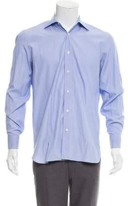 Borrelli Striped French Cuff Shirt