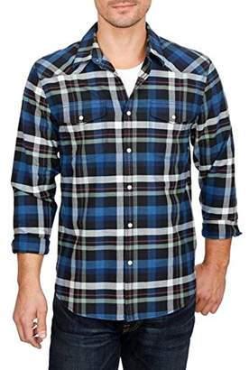 Lucky Brand Men's Santa Fe Western Shirt in Multi