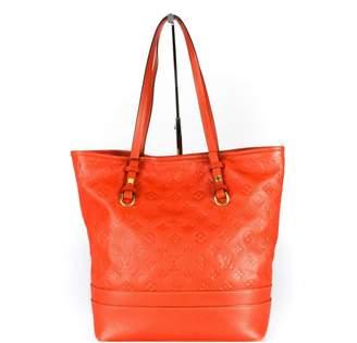 Louis Vuitton Orange Leather Handbag
