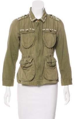 Current/Elliott The Lone Soldier Studded Jacket