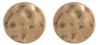Melrose and Market Hammered Round Stud Earrings