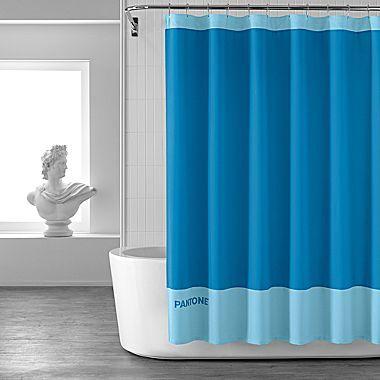 Pantone UniverseTM Tonal Shower Curtain