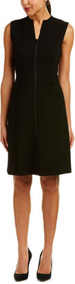 Lafayette 148 New York Carlina Wool A-Line Dress