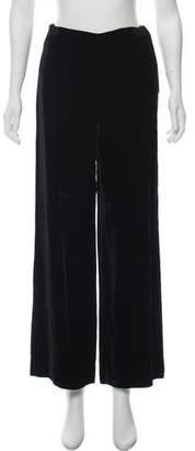 Katharine Hamnett High-Rise Velvet Pants