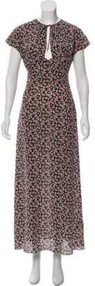 Tomas Maier Silk Maxi Dress