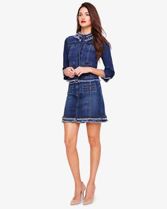aec4b8382b2f Phase Eight Jorja Embellished Denim Skirt