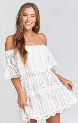Show Me Your Mumu Lana Dress ~ Dainty Darling Crochet Lace