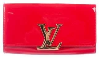 Louis Vuitton Vernis Louise Clutch Rouge Vernis Louise Clutch