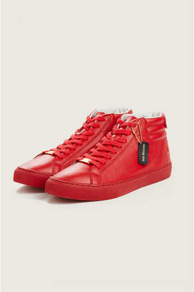 True Religion HEX V1 HIGH TOP LEATHER SNEAKER