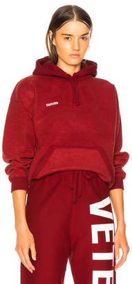 Vetements Inside Out Fitted Hoodie
