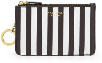 Henri Bendel West 57Th Centennial Stripe Coin Purse