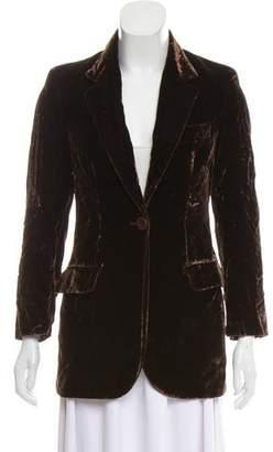 Dolce & Gabbana Fitted Velvet Blazer