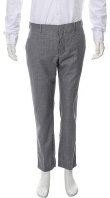 Prada Houndstooth Wool Pants