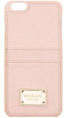 Michael Kors Leather Phone Case