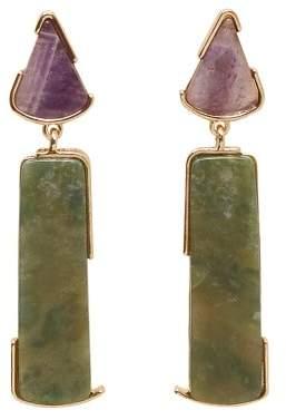 Violeta BY MANGO Semiprecious stone earring