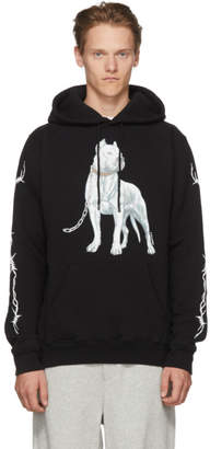 Marcelo Burlon County of Milan Black Dogo Hoodie