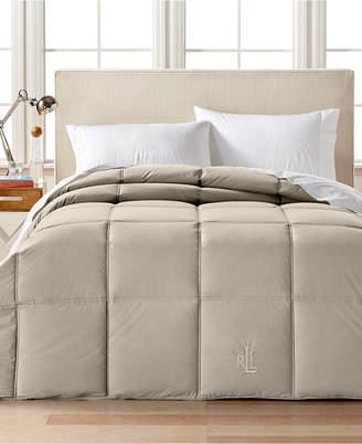 Lauren Ralph Lauren Color Down Alternative Full/Queen Comforter, 100% Cotton Cover