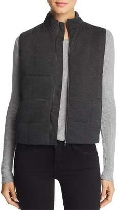 Majestic Filatures Quilted Knit Vest